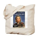 Wartime US Cadet Nurse Corps Tote Bag