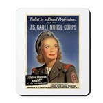 Wartime US Cadet Nurse Corps Mousepad