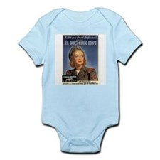 Wartime US Cadet Nurse Corps Infant Bodysuit