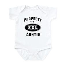 Property of Auntie Infant Bodysuit