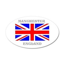Manchester England Wall Decal