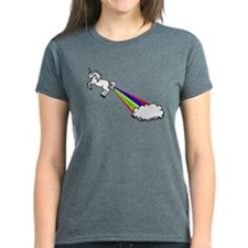 Unicorn Rainbow Fart Cloud Tee