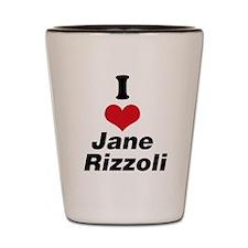 I Heart Jane Rizzoli 1 Shot Glass