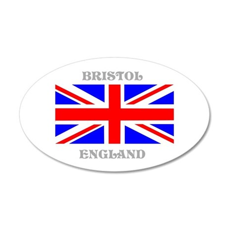Bristol England 35x21 Oval Wall Decal
