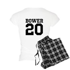 Landon Bower #20-Women's Pajamas