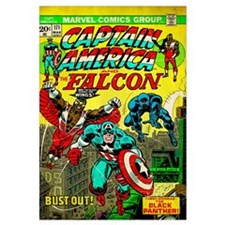 Captain America And The Falcon (Bust-Out!)