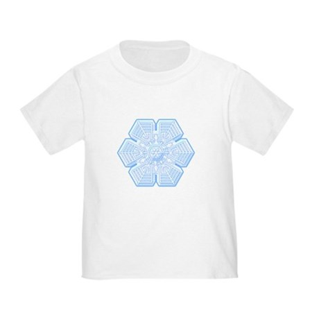 Flurry Snowflake XVI Toddler T-Shirt