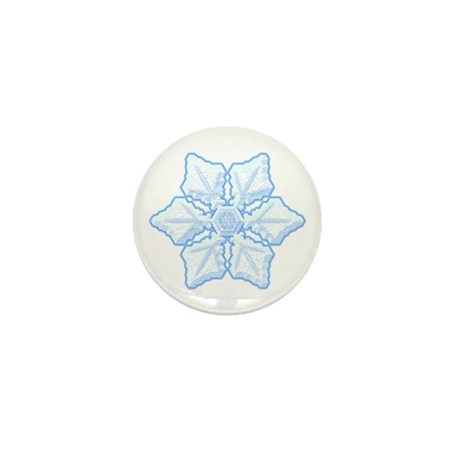 Flurry Snowflake XV Mini Button (10 pack)
