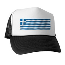 Pure Flag of Greece Trucker Hat