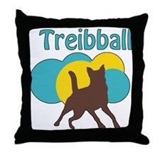 Treibball Throw Pillow
