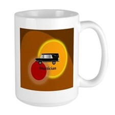 mortician abstract Mug