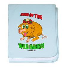 Friend of The Wild Haggis baby blanket