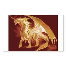 Gold Dragon Decal
