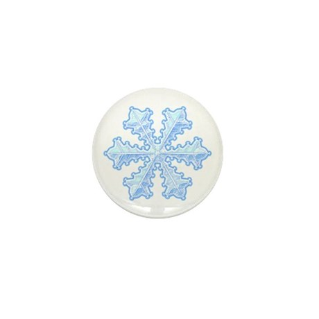 Flurry Snowflake XIII Mini Button