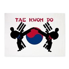 Tae Kwon Do 5'x7'Area Rug