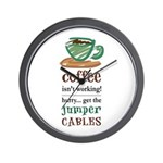 Get the Jumper Cables Wall Clock