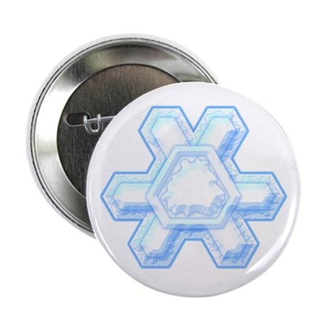 Flurry Snowflake XII Button