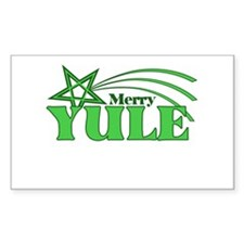 Merry Yule Decal