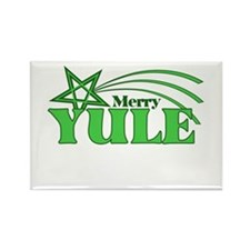 Merry Yule Rectangle Magnet