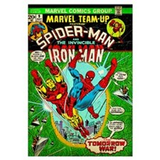 Spider-Man And The Invincible Iron Man (...The Tom
