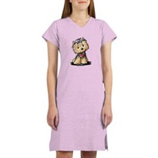 Tiny Heart Yorkie Women's Nightshirt