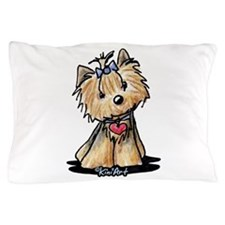Tiny Heart Yorkie Pillow Case