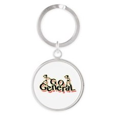 Cute General Round Keychain