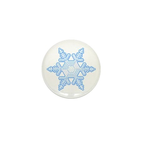 Flurry Snowflake X Mini Button (10 pack)