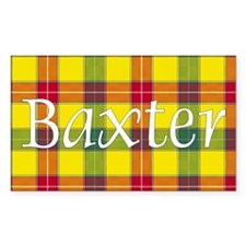 Tartan - Baxter Decal