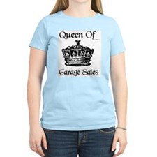 Queen of Garage Sales Women's Pink T-Shirt