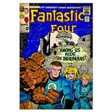 The Fantastic Four (Among Us Hide The Inhumans)