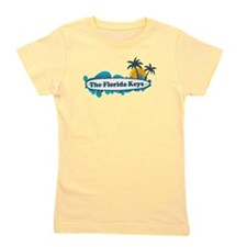 Florida Keys - Surf Design. Girl's Tee