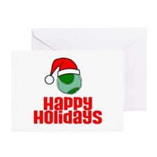 TennisChick Happy Holidays Greeting Cards (Package