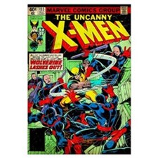 The Uncanny X-Men (Wolverine Lashes Out)