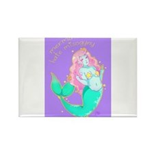Mermaids Hate Misogyny Rectangle Magnet