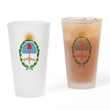 Argentina COA Drinking Glass