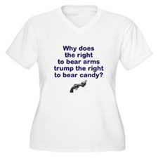 Justice for Trayvon Plus Size T-Shirt