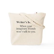 Writer's Block. Tote Bag