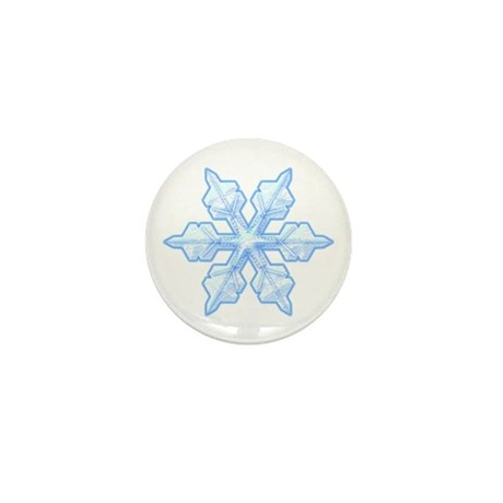 Flurry Snowflake VI Mini Button