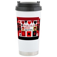 Nicole Red Hotty design Travel Mug