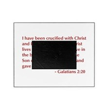 Galatians--2-20-opt-burg Picture Frame