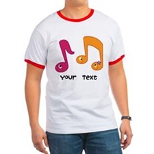 Personalized Music Notes T