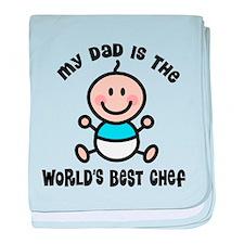 Best Chef Dad baby blanket