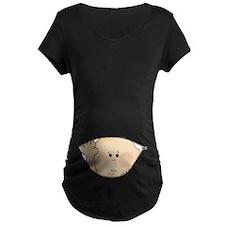 Baby Peeking Maternity T-Shirt