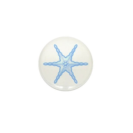 Flurry Snowflake III Mini Button
