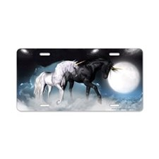 Unicorn Aluminum License Plate