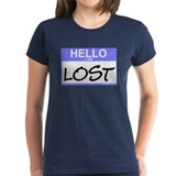 Hello I Am Lost Sticker Tee