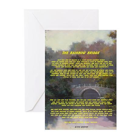 Rainbow Bridge Sympathy Card (Pk of 10)