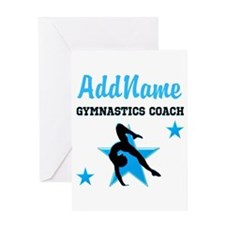 NUMBER 1 COACH Greeting Card