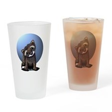 Curious Ferret Drinking Glass